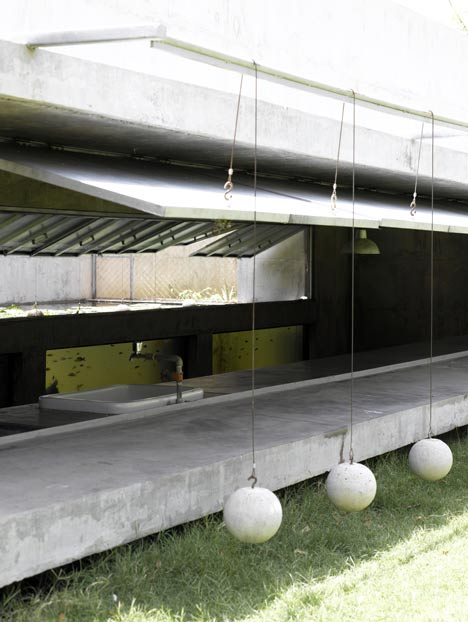 House with Balls